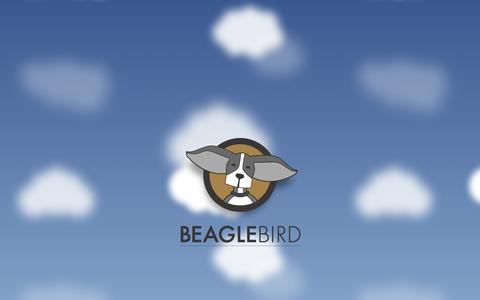 Screenshot of Home Page beaglebird.com - Web design & development - Beaglebird Studio - Albany, NY - captured Oct. 5, 2014
