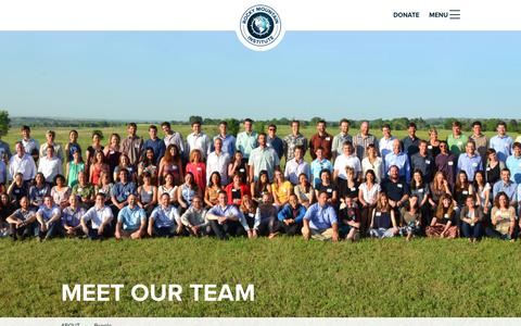 Screenshot of Team Page rmi.org - People - Rocky Mountain Institute - captured Oct. 13, 2017