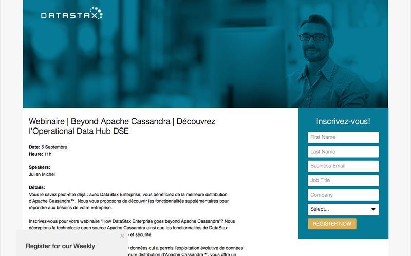 Webinaire   Beyond Apache Cassandra   Découvrez l'Operational Data Hub DSE