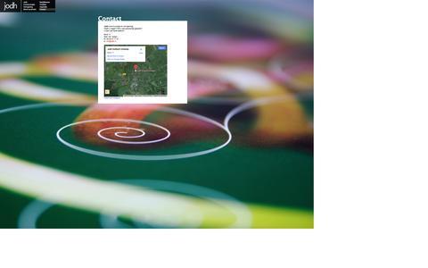 Screenshot of Contact Page jodh.nl - Contact | Jodh grafisch ontwerp en advies | Jodh - captured Oct. 6, 2014