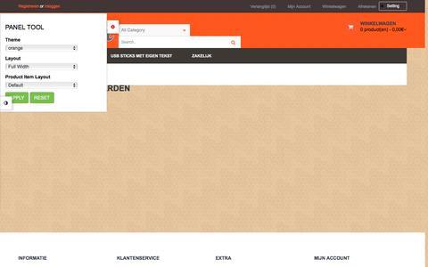 Screenshot of Privacy Page elizaa.nl - Algemene voorwaarden - captured Dec. 8, 2015