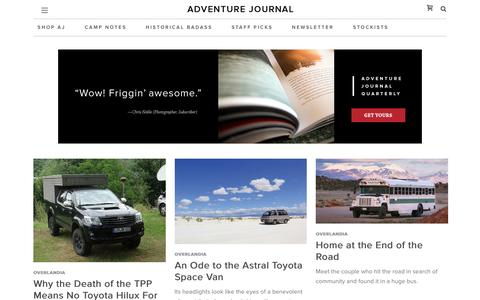 Overlandia Archives - adventure journal