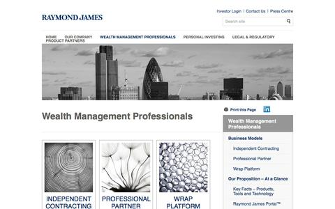 Wealth Management London | Raymond James Investments Services