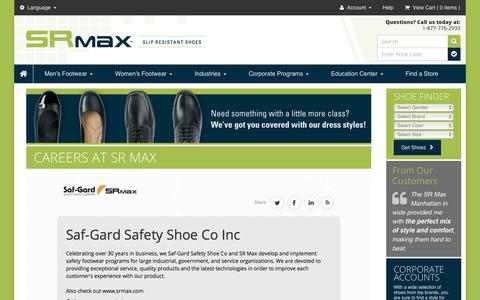 Screenshot of Jobs Page srmax.com - Careers at SR Max - captured Sept. 30, 2017