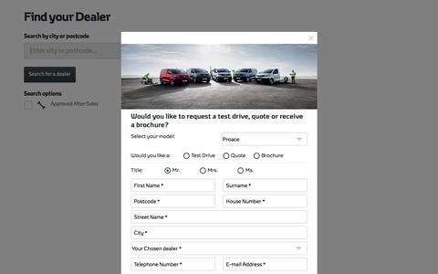 Toyota Car Dealers - Find Your Local Car Dealer  | Toyota UK
