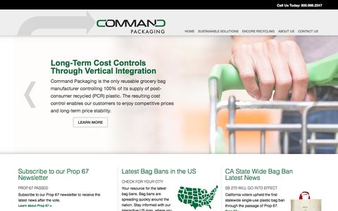 Command Packaging, A smarterbags Company