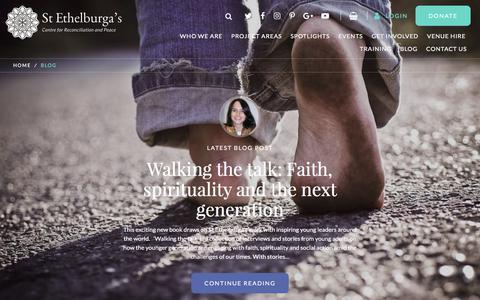 Screenshot of Blog stethelburgas.org - Blog - St Ethelburga's - captured Nov. 2, 2017