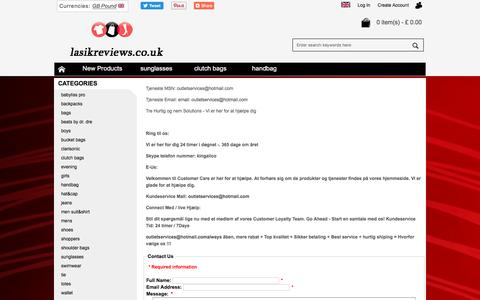 Screenshot of Contact Page lasikreviews.co.uk - Contact Us - captured Feb. 21, 2018