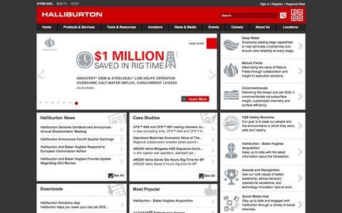 Oilfield Services | Halliburton - Solving Challenges. - Halliburton