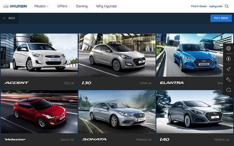 Hyundai New Cars - Hyundai Australia