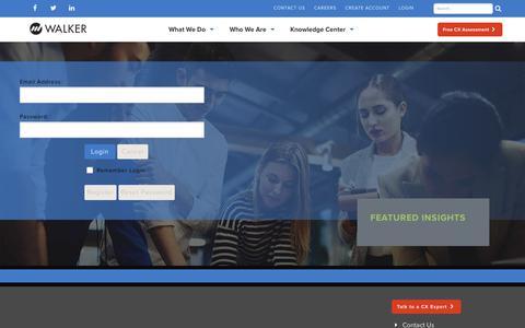 Screenshot of Login Page walkerinfo.com - User Log In - captured Sept. 23, 2018