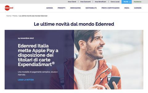 News, Eventi e Comunicati Stampa | Edenred
