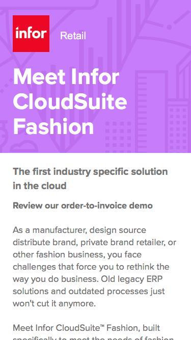 Meet CloudSuite Fashion