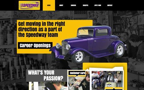 Screenshot of Jobs Page speedwaymotors.com - Speedway Motors Careers, Speedway Motors Jobs - captured Oct. 27, 2015