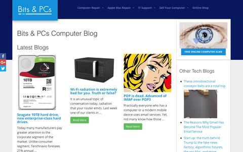 Screenshot of Blog bapcs.co.uk - Bits & PCs Computer and Technology Blog - captured Nov. 22, 2016