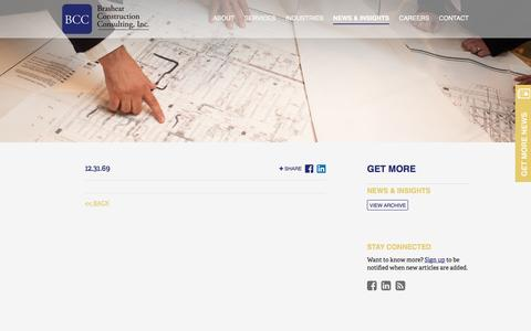 Screenshot of Signup Page brashearconsulting.com - | News & Insights | Brashear Construction Consulting, Inc. - captured Nov. 23, 2016