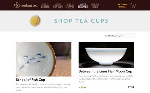 Tea Cups | Verdant Tea