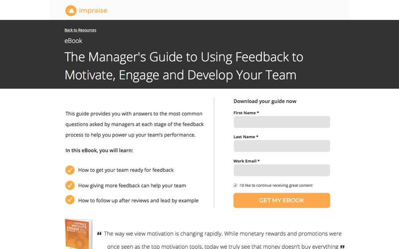 eBook: The Manager's Guide to Using Feedback to Motivate, Engage and Develop Your Team