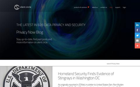 Privacy Now Blog | Silent Circle