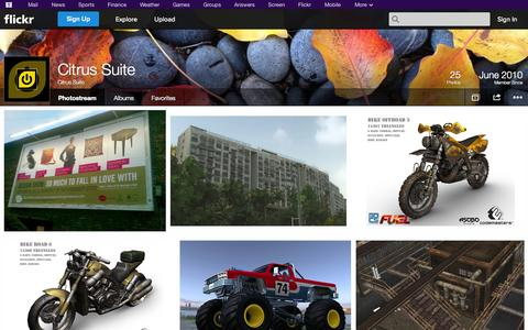Screenshot of Flickr Page flickr.com - Flickr: Citrus Suite's Photostream - captured Oct. 23, 2014