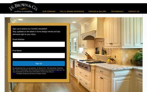 Screenshot of Signup Page jsbrowncompany.com - Join - captured Sept. 26, 2016