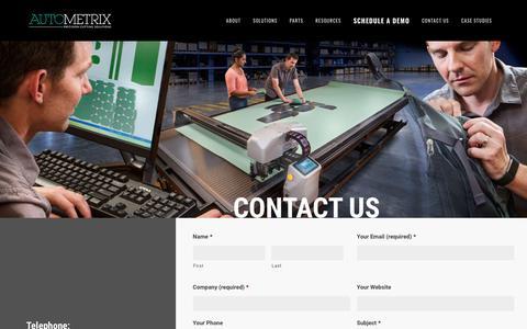 Contact | Autometrix