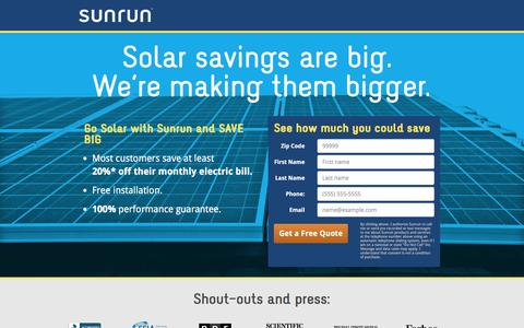 Energy Landing Pages | Website Inspiration and Examples | Crayon
