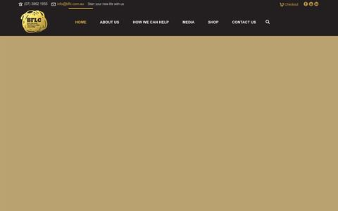 Screenshot of Home Page bflc.com.au - Brisbane Family Law Centre - a specialist family law firm - captured Oct. 5, 2014