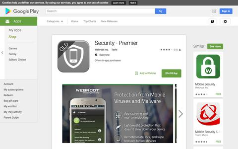 Security - Premier - Android Apps on Google Play