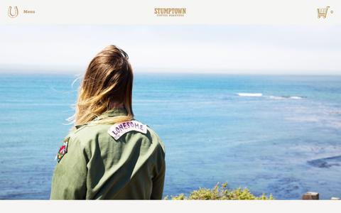 Screenshot of stumptowncoffee.com - Mixtape: Mallory Pilcher, Outta Gas, Still Burnin'    Stumptown Coffee Roasters Blog - captured Oct. 22, 2015