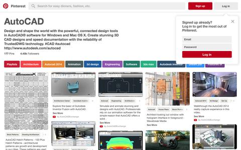 177 best AutoCAD images on Pinterest