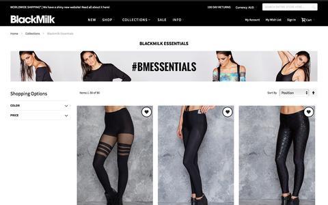 Blackmilk Essentials - Collections