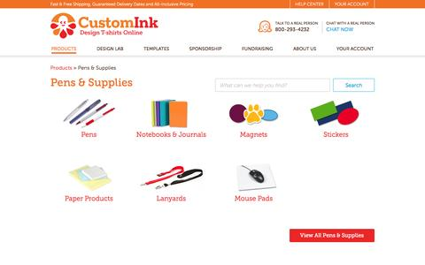 Print Your Company Logo on Pens, Stickers, Sticky Notes & Mouse Pads - Design Online