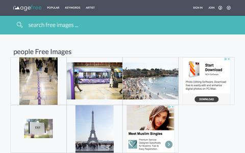 Screenshot of Team Page imagefree.com - Search: free people images - Free people Photos and Pictures - free people Photography | ImageFree.com - captured Sept. 23, 2018