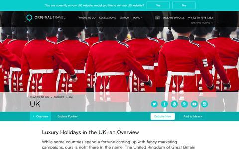 Luxury Holidays UK | Boutique Big & Short Breaks in The UK