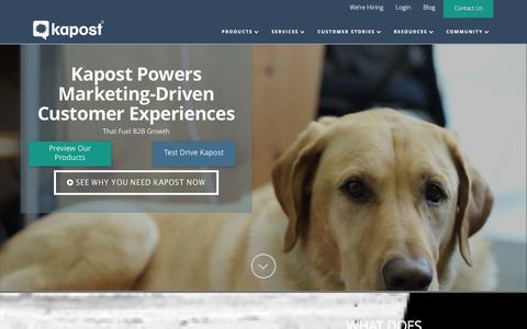 B2B Marketing Strategy with Kapost's Content Platform