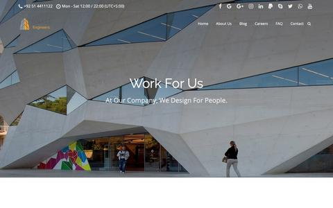 Screenshot of Jobs Page solace-engineers.com - Careers – SOLACE Engineers - captured Oct. 1, 2018
