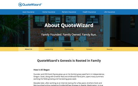 About Us | QuoteWizard