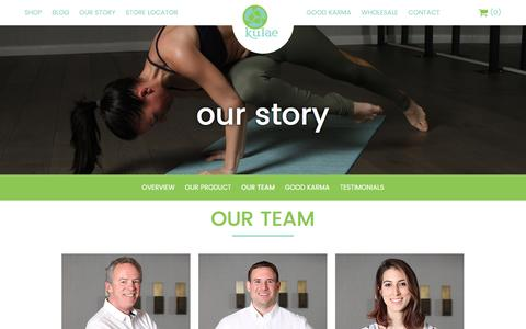 Screenshot of Team Page kulae.com - Our Team - Kulae - captured March 31, 2017
