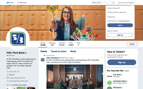 Fifth Third Bank (@FifthThird) | Twitter