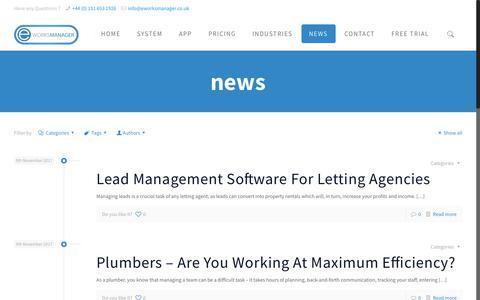 News - Eworks Manager