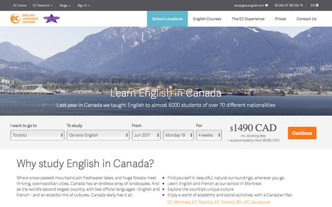 Learn English in Canada – ESL Canada English Schools