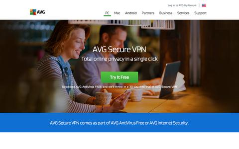 AVG Secure VPN | Total Online Privacy | Free Trial