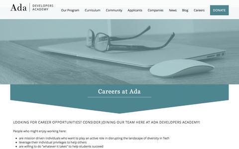 Ada Developers Academy