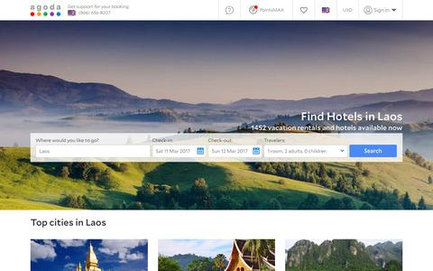 Laos Hotels - Online hotel reservations for Hotels in Laos
