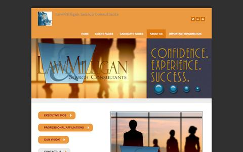 Screenshot of About Page lawmilligan.com - About Us - LawMilligan - captured Oct. 27, 2014