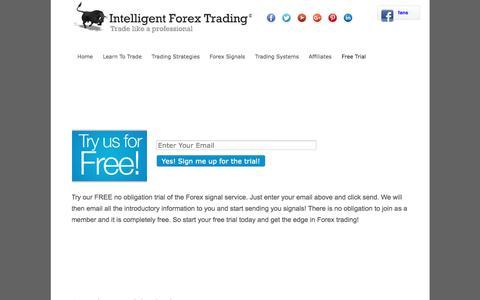 Screenshot of Trial Page intelligentforextrading.net - Offers - Intelligent Forex Trading - captured Oct. 15, 2016