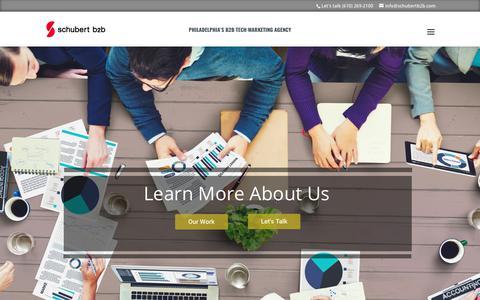 Philadelphia's B2B Digital Marketing Agency | Schubert b2b