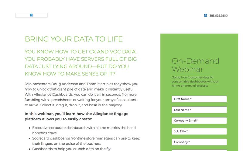 Bring Your Data to Life | MaritzCX