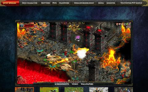 Screenshot of Press Page fragoria.com - Free Epic Fantasy Browser MMORPG Fragoria - captured Sept. 19, 2014